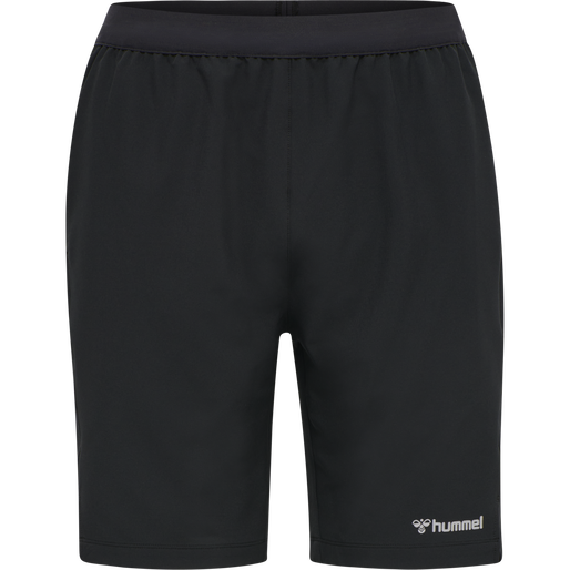 hmlTORIN SHORTS, BLACK, packshot