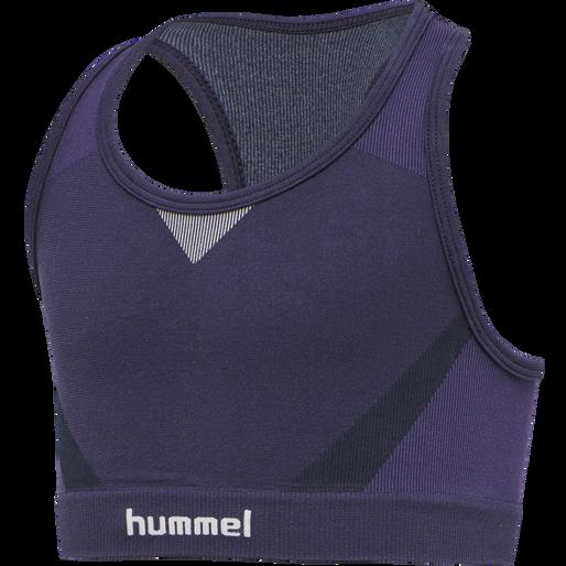 hmlHARPER SEAMLESS SPORTS TOP, OMBRE BLUE , packshot