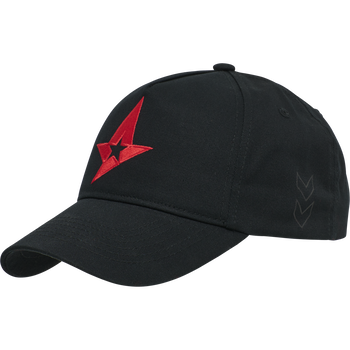 ASTRALIS CAP, BLACK, packshot