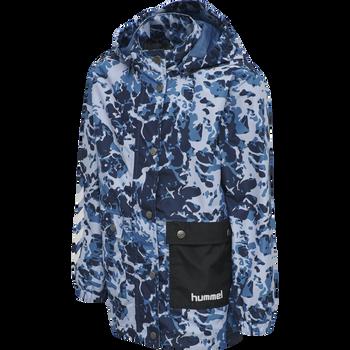 hmlLAPLI JACKET, MYKONOS BLUE, packshot