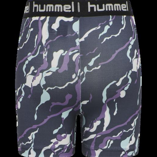 hmlMIMMI TIGHT SHORTS, OMBRE BLUE , packshot