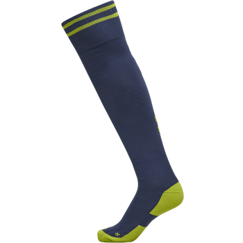 ELEMENT FOOTBALL SOCK , DARK DENIM/LIME PUNCH, packshot