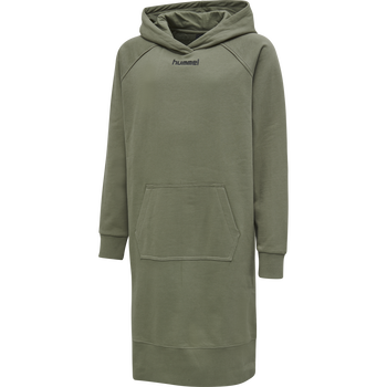 hmlASTER DRESS L/S, VETIVER, packshot