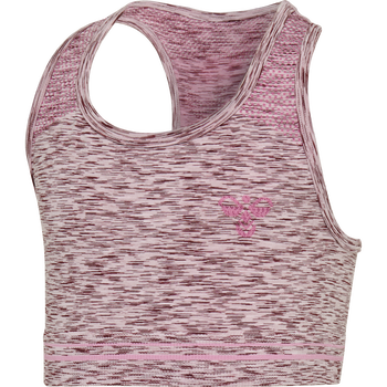 hmlLULLU SEAMLESS SPORTS TOP, MAUVE SHADOW, packshot