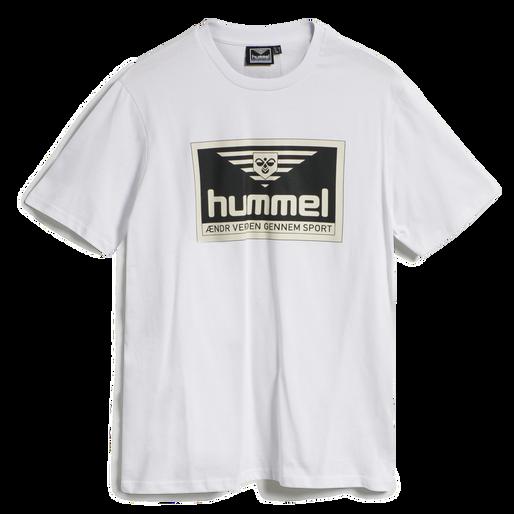 hmlFRESH T-SHIRT, WHITE, packshot