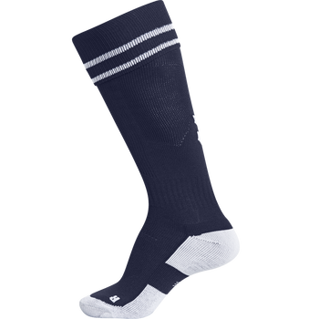 ELEMENT FOOTBALL SOCK , MARINE/WHITE, packshot