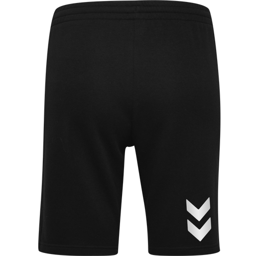 HUMMEL GO COTTON BERMUDA SHORTS WOMAN, BLACK, packshot