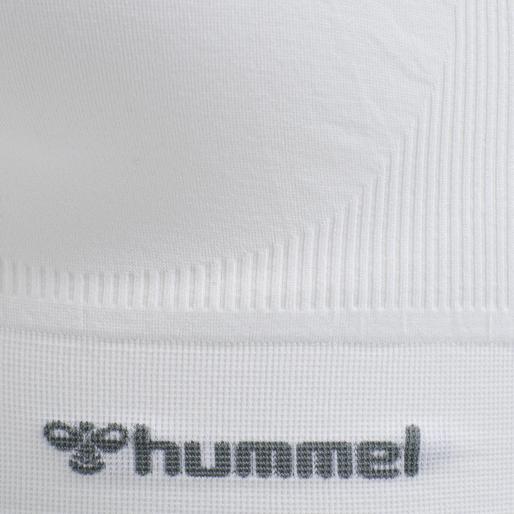hmlTIF SEAMLESS SPORTS TOP, WHITE, packshot