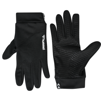 HUMMEL LIGHT PLAYER GLOVE, BLACK, packshot