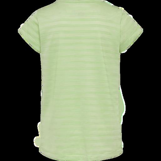 hmlSUTKIN TEE S/S, GREEN ASH, packshot