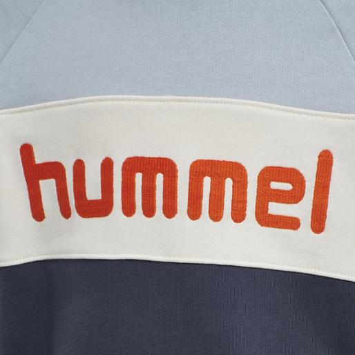 hmlCLAES SWEATSHIRT, BLUE FOG, packshot