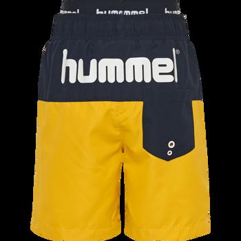 hmlGARNER BOARD SHORTS, GOLDEN ROD, packshot