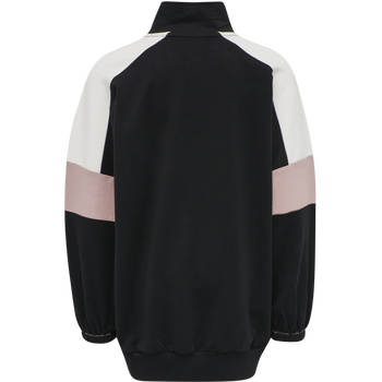 hmlVALERIE LONG SWEATSHIRT, BLACK, packshot