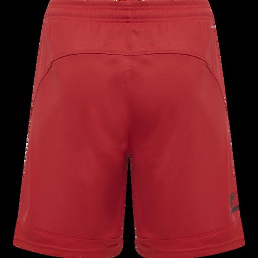 hmlLEAD POLY SHORTS, TRUE RED, packshot