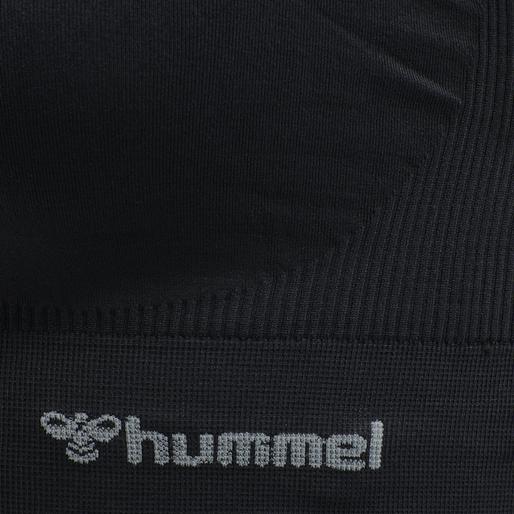 hmlTIF SEAMLESS SPORTS TOP, BLACK, packshot