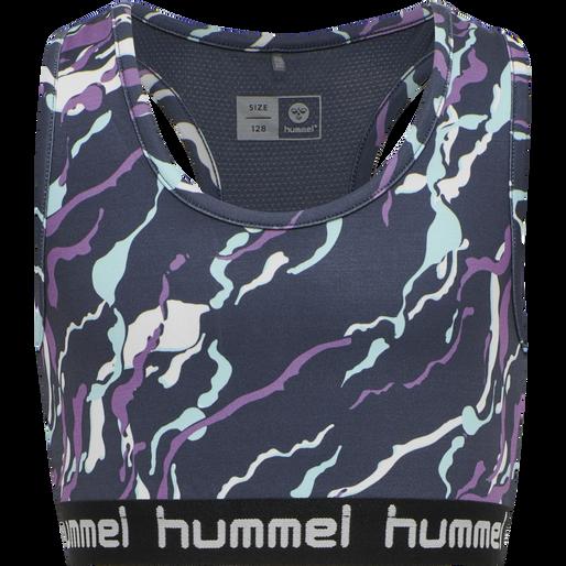 hmlMIMMI SPORTS TOP, OMBRE BLUE , packshot