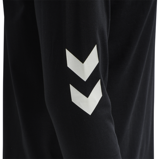 hmlLGC CRAIG T-SHIRT L/S, BLACK, packshot
