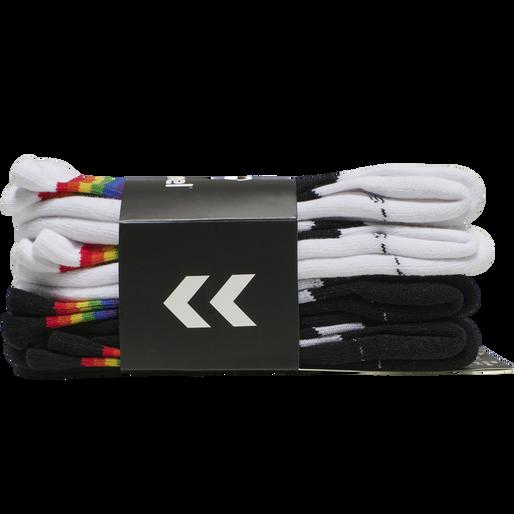 hmlLOVE 4-PACK SOCKS, MULTI COL., packshot