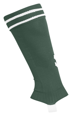ELEMENT FOOTBALL SOCK FOOTLESS, EVERGREEN/WHITE, packshot