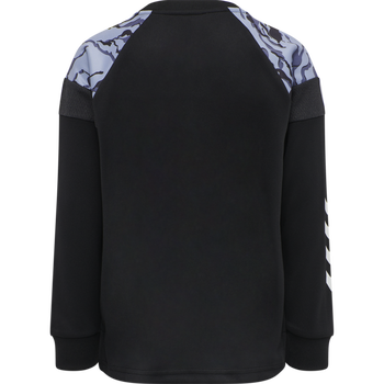 hmlNILAR SWEATSHIRT, BLACK, packshot