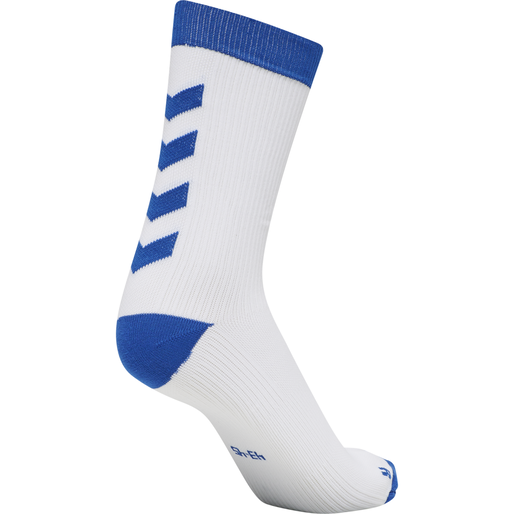 ELEMENT PERFORMANCE SOCK 2 PACK, WHITE/TRUE BLUE, packshot