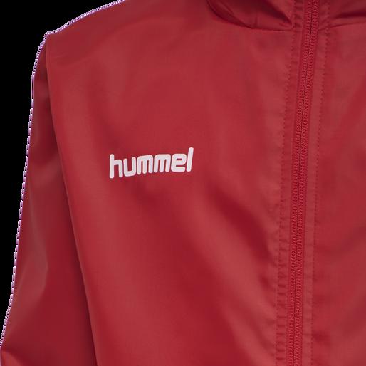 hmlPROMO RAIN JACKET KIDS, TRUE RED, packshot