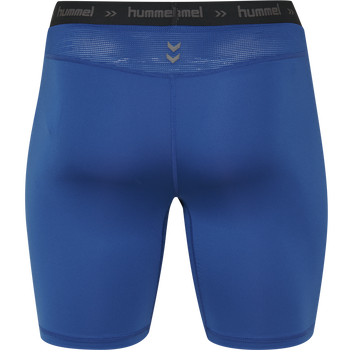 HUMMEL FIRST PERFORMANCE TIGHT SHORTS, TRUE BLUE, packshot