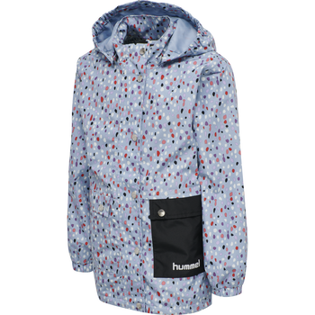 hmlLAPLI JACKET, BLUE FOG, packshot