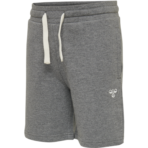 HMLBASSIM SHORTS, MEDIUM MELANGE, packshot