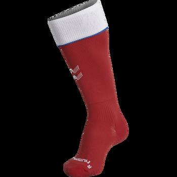 DBU FOOTBALL SOCK 18/19, TANGO RED, packshot