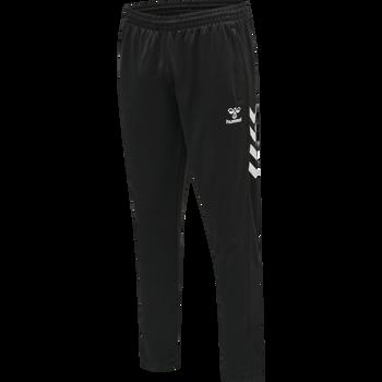 hmlCORE VOLLEY POLY PANTS LONG, BLACK, packshot