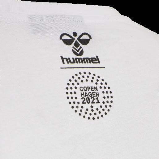 hmlLOVE T-SHIRT, WHITE/MULTICOLOR, packshot