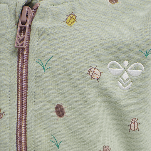 hmlEMMA ZIP JACKET , DESERT SAGE, packshot