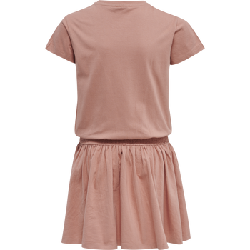 hmlSUMMERY DRESS S/S, !CAMEO BROWN, packshot