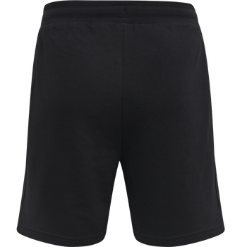HMLDARE SHORT, BLACK, packshot