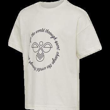 hmlMARY T-SHIRT S/S, WHISPER WHITE, packshot