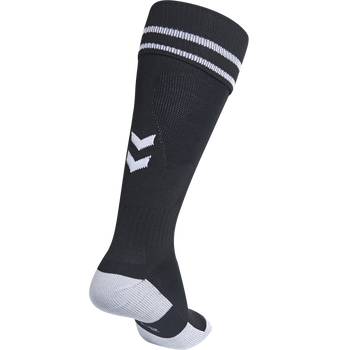 ELEMENT FOOTBALL SOCK , BLACK/WHITE, packshot
