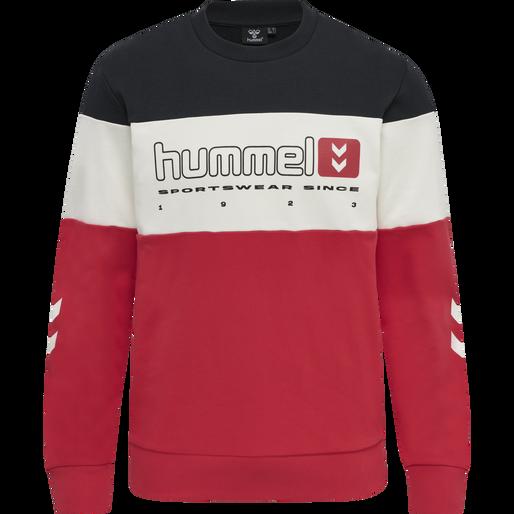 hmlLGC MUSA SWEATSHIRT, TRUE RED, packshot