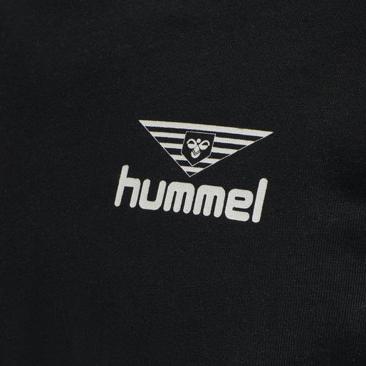 hmlHIVE SWEATSHIRT, BLACK, packshot