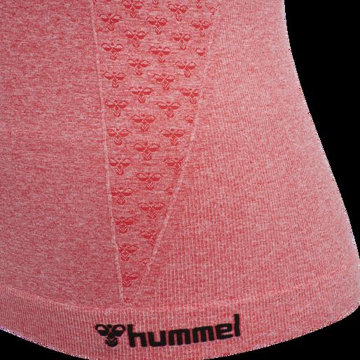 hmlCI SEAMLESS TOP, SUGAR CORAL MELANGE, packshot