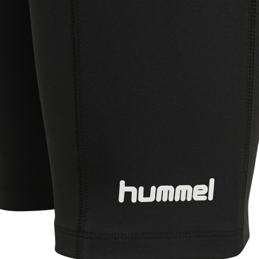 hmlSKIPPER CYCLING SHORTS, BLACK, packshot