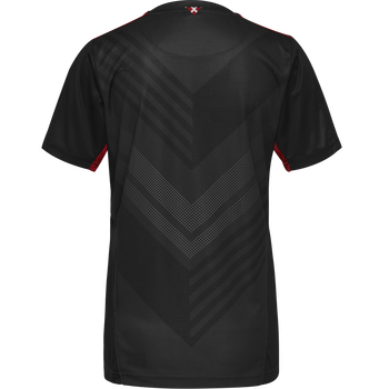 DBU GK WOMAN JERSEY SS, BLACK, packshot