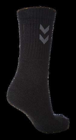 3-Pack Basic Sock, BLACK, packshot