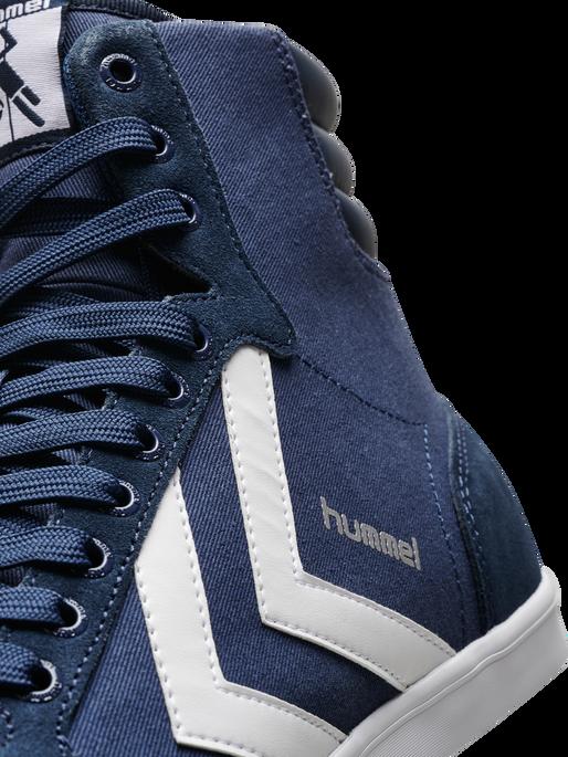 HUMMEL SLIMMER STADIL HIGH, DRESS BLUE/WHITE KH, packshot