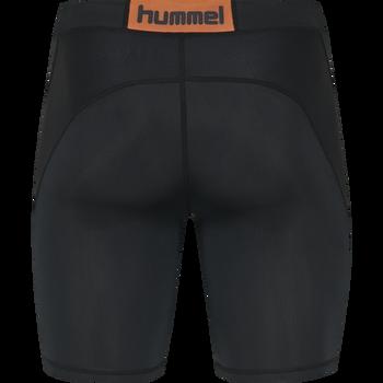 HUMMEL FIRST COMPRESSION SHORT TIGHTS, BLACK, packshot