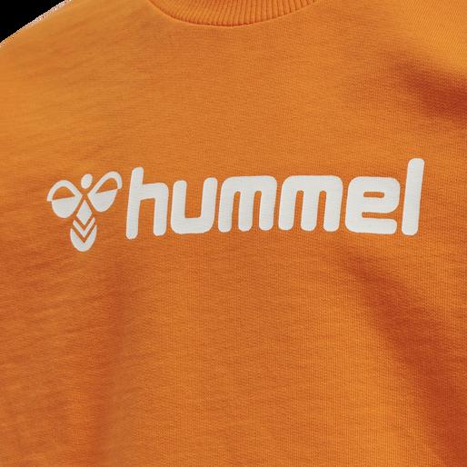 hmlSPRING TRACKSUIT, ORANGE PEEL, packshot