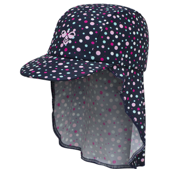 hmlBEACH SUN HAT, BLACK IRIS/SWEET LILAC, packshot