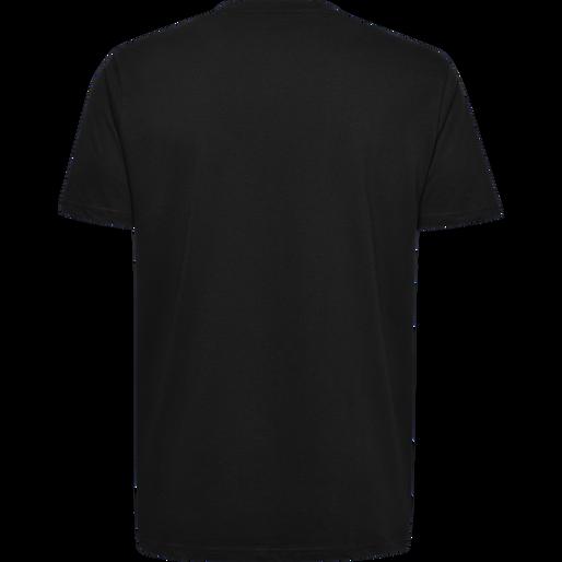 HUMMEL GO KIDS COTTON LOGO T-SHIRT S/S, BLACK, packshot