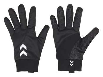 LIGHT WEIGHT PLAYER GLOVES, BLACK, packshot