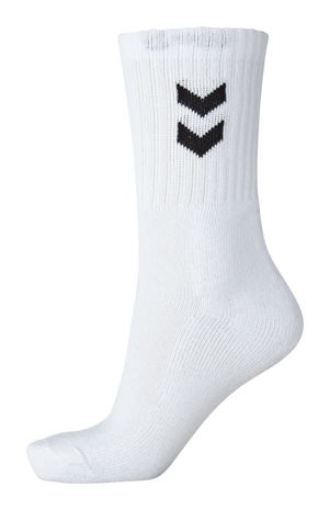 3-Pack Basic Sock, WHITE, packshot